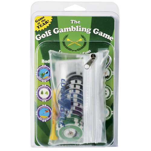 Poker Chip Golf Game